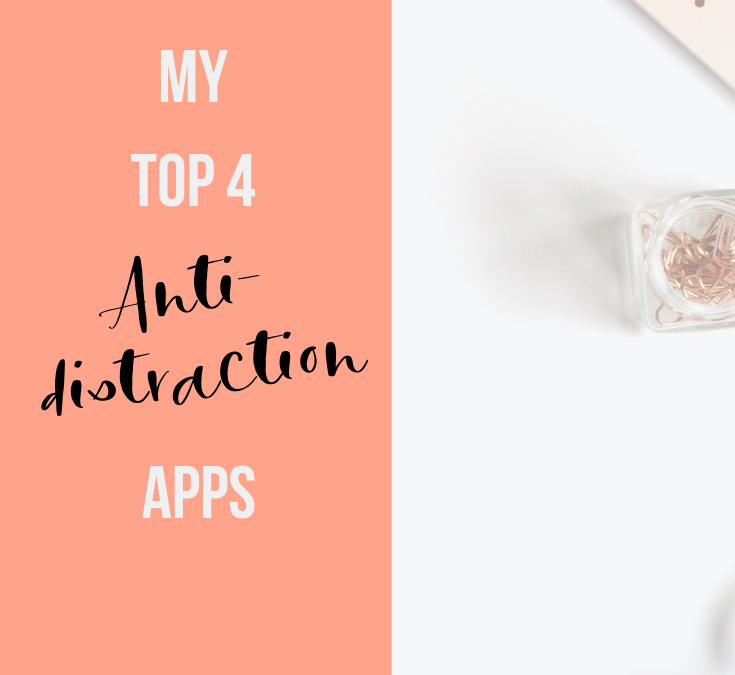 My 4 Favorite Apps for Focusing and Avoiding Distractions